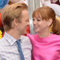 pregnant celebrities 2016 Adam Campbell Jayma Mays
