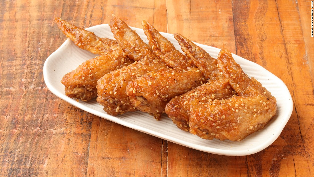 Tebasaki is so much more than just deep-fried chicken wings. The wings are seasoned then fried without batter. They're basted with sauce on both sides while being turned, seasoned with salt and pepper, and coated with white sesame seeds.