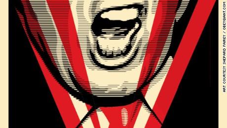 Obama 'Hope' artist: Trump is 'dangerous'