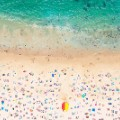 Aerial beach photo Coogee Beach Horizontal