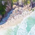 Aerial beach photo Joatinga Beach Rio de Janeiro