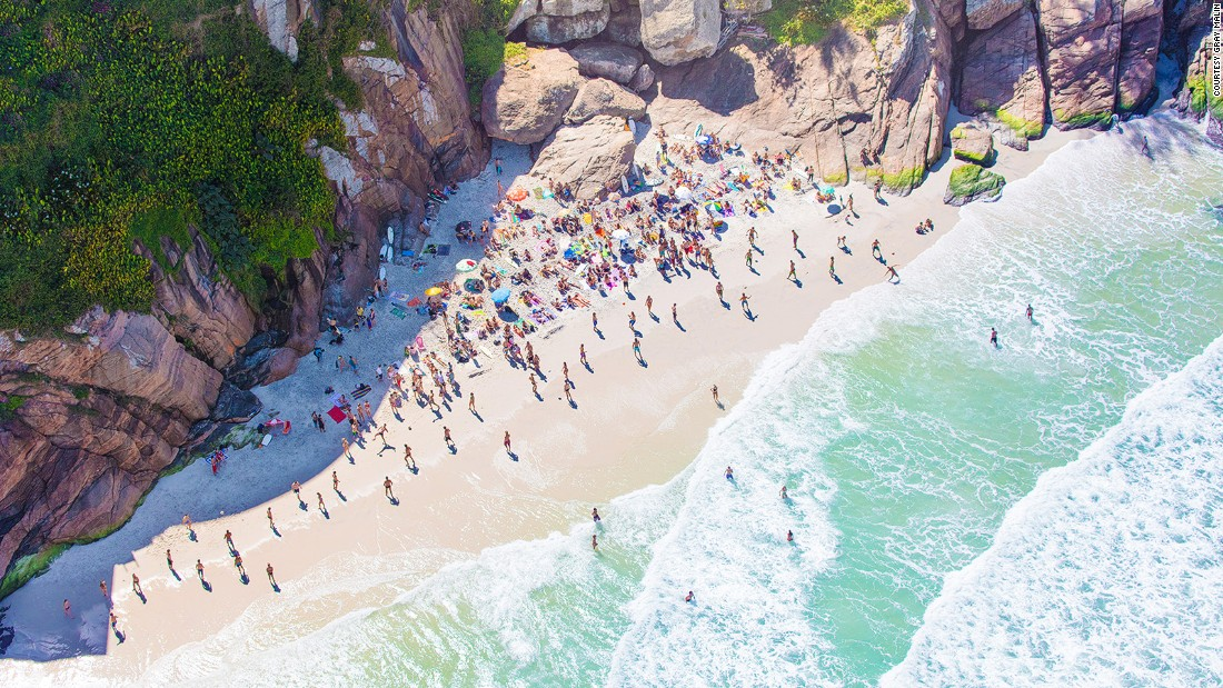 """I love Rio,"" exclaims Malin. ""Everyone knows Ipanema and Copacabana, but if you go beyond those areas, it's a whole other world. Joatinga Beach, for instance, is so cool... It's like a rainforest meets the beach."""