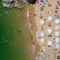 Aerial beach photo Lisbon Albatross Beach