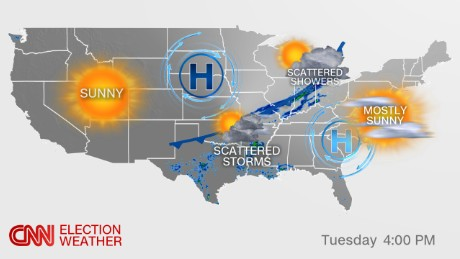 Election Weather Forecast