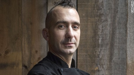 Marc Forgione and his 'dysfunctional family' of super foodies