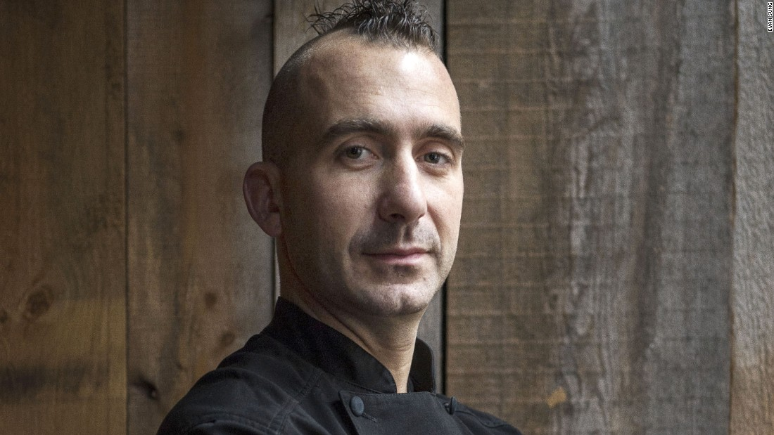 """Food is something that soothes your soul,"" says chef Marc Forgione. <em>Photo courtesy Evan Sung.</em>"