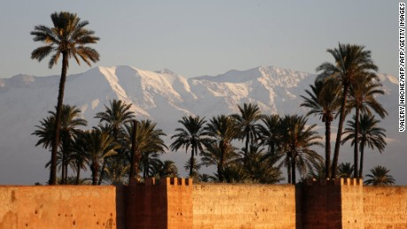 Oukaimeden, Morocco's premier resort, lies 50 miles from the city of Marrakech.