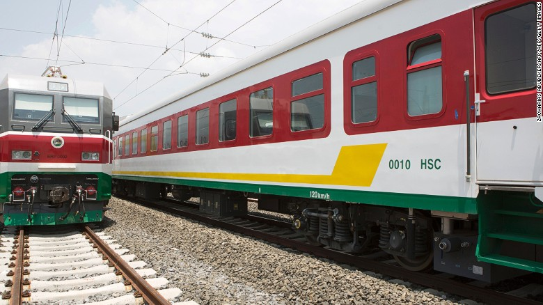 The latest to be unveiled, in October 2016, is a 756-kilometer electric railway which links Ethiopia's Addis Ababa to Djibouti.