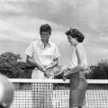 john f kennedy jacqueline tennis