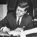 john f kennedy signing
