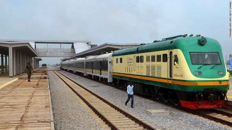 Unveiled in July 2016, a new line in Nigeria connects federal capital city Abuja to the city of Kaduna further north.