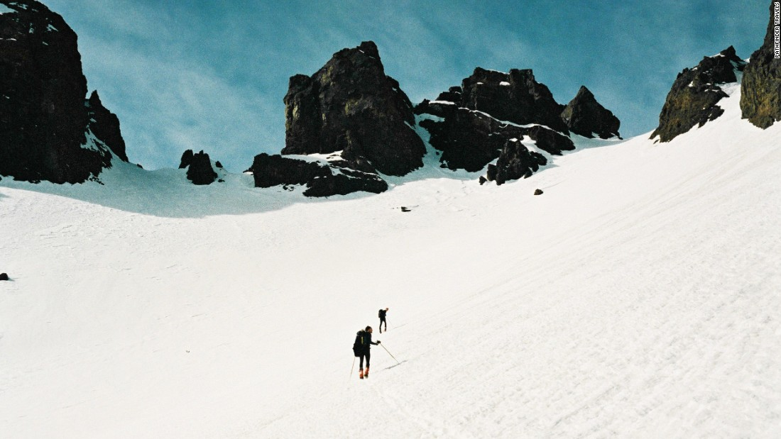 While skiing took off in Morocco during the French protectorate, there aren't many established ski resorts -- perhaps due to the short season and lack of commercial viability. But an increasing number of skiers are gravitating towards the High Atlas, says Nordenborg, with many touring.