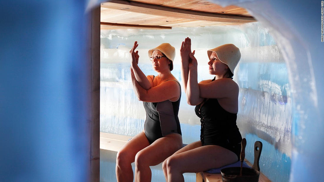Sauna is about bonding and socializing. But it's a space for spiritual cleansing and reflection too.