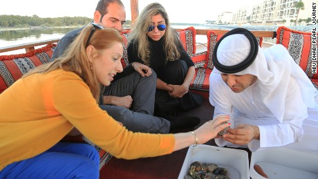 It's finders-keepers on the Abu Dhabi pearl journey.