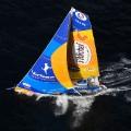 Vendee Globe sailing Saint Michel - Virbac