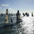 Vendee Globe sailing starting line