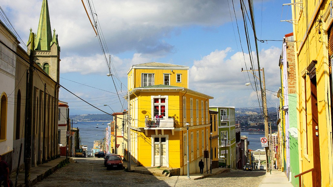 "<strong>Secret Bay's owner loves... Luna Sonrisa, Chile -- </strong>Cerro Alegre (pictured) is ""the most picturesque neighborhood in Valparaiso,"" says Secret Bay's owner, Gregor Nassief. His favorite hotel stay ever is a postponed honeymoon trip to Cerro Alegre's Luna Sonrisa."