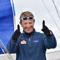 Vendee Globe sailing French skipper Jean-Pierre Dick