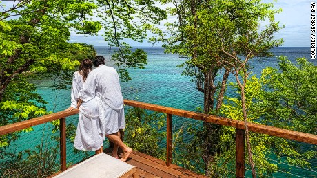 Secret Bay, luxury eco-resort, Dominica, West Indies