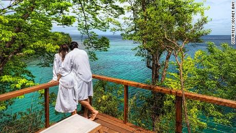 Secret Bay, luxury eco-resort, Dominica, West Indies