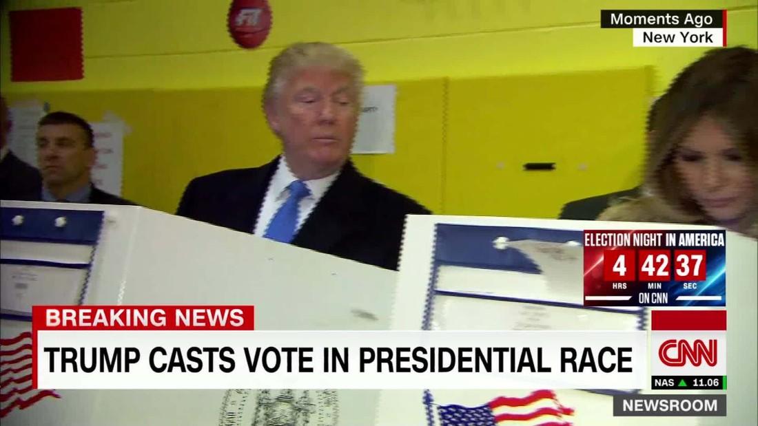 Funny Vote Trump Meme : Trump peeks at melania s ballot internet memes pop up