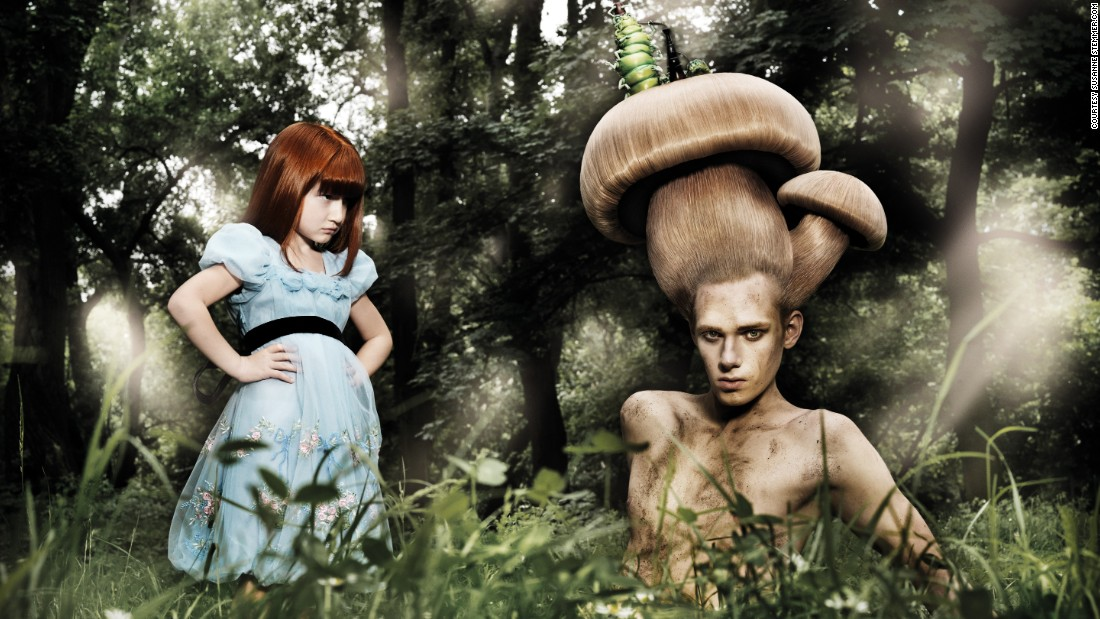 "Susanne Stemmer's half-human, half-fungi references the potential for hybridization in the future. <br /><em><br />""Lately in the Wood"" (2009) by Susanne Stemmer </em>"