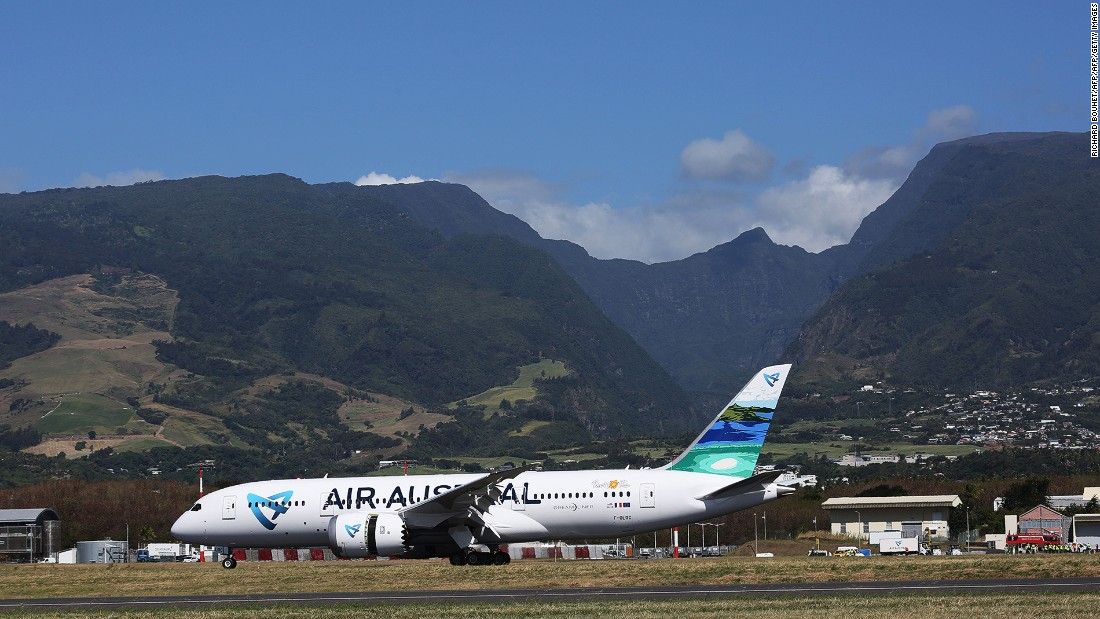La Réunion-based Air Austral is one of the airlines to operate the longest nonstop domestic airline route from Paris to La Réunion's Roland Garros Airport.