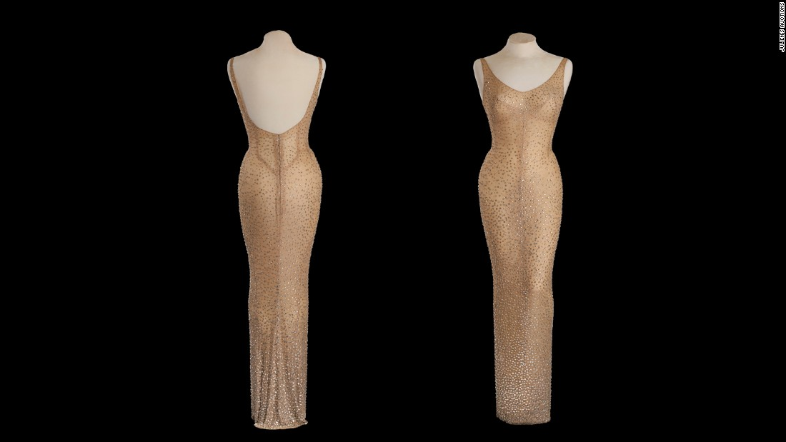 Darren Julien, president and CEO of Julien's Auctions, had estimated the dress could sell for more than twice as much as it did in 1999. The upper estimate was set at $3 million.
