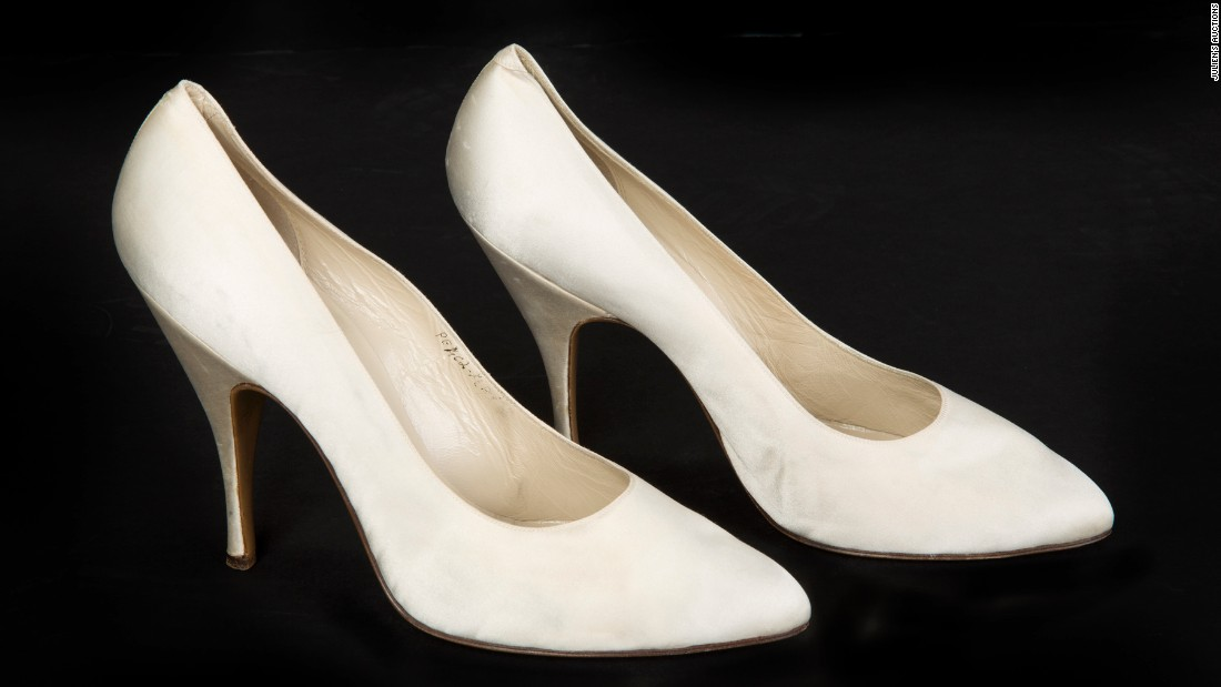 "These Salvatore Ferragamo heels were exhibited as part of the ""Shoes: Pleasure and Pain"" exhibition at London's Victoria & Albert Museum in 2015. They sold for $34,000."