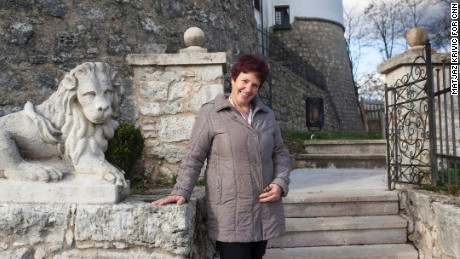 Renata hopes more tourists will now come to visit Sevnica.
