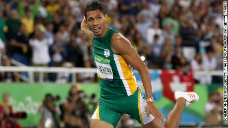 Van Niekerk aiming for Bolt's 200m record