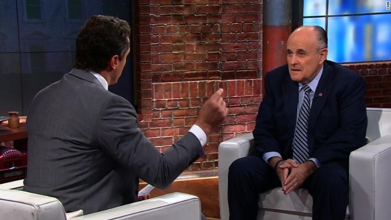 Rudy Giuliani Hillary Clinton prosecution newday_00003711