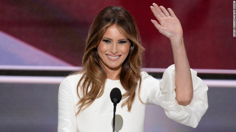 First Lady Melania Trump has yet to hire any staff