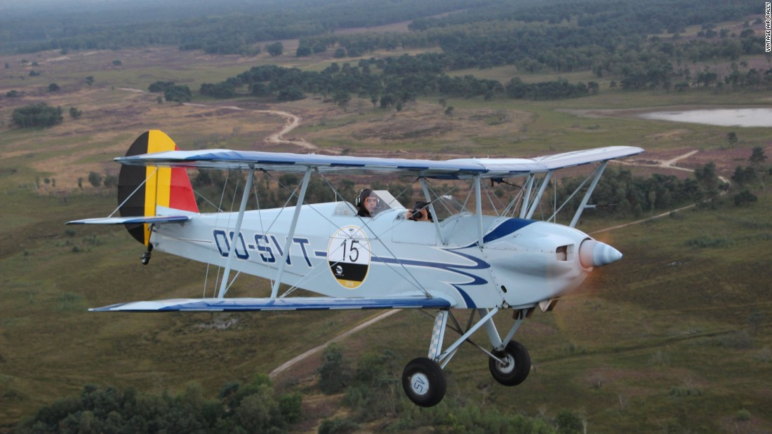 Each aircraft is a pre-1939, single-engine biplane, which bring unique challenges such as spinning the propeller to start the engine.
