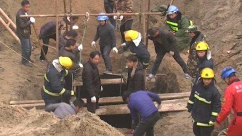 Boy stuck in well for days found dead