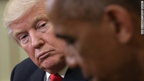 Trump and Obama finally meet after years of bad blood
