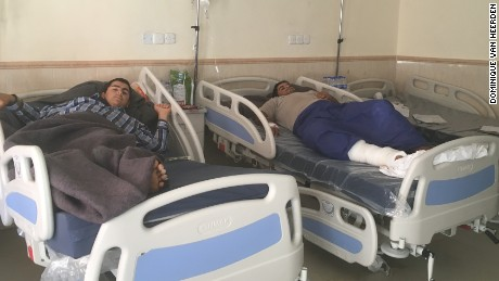 Taha and Tahseen recover from their injuries.