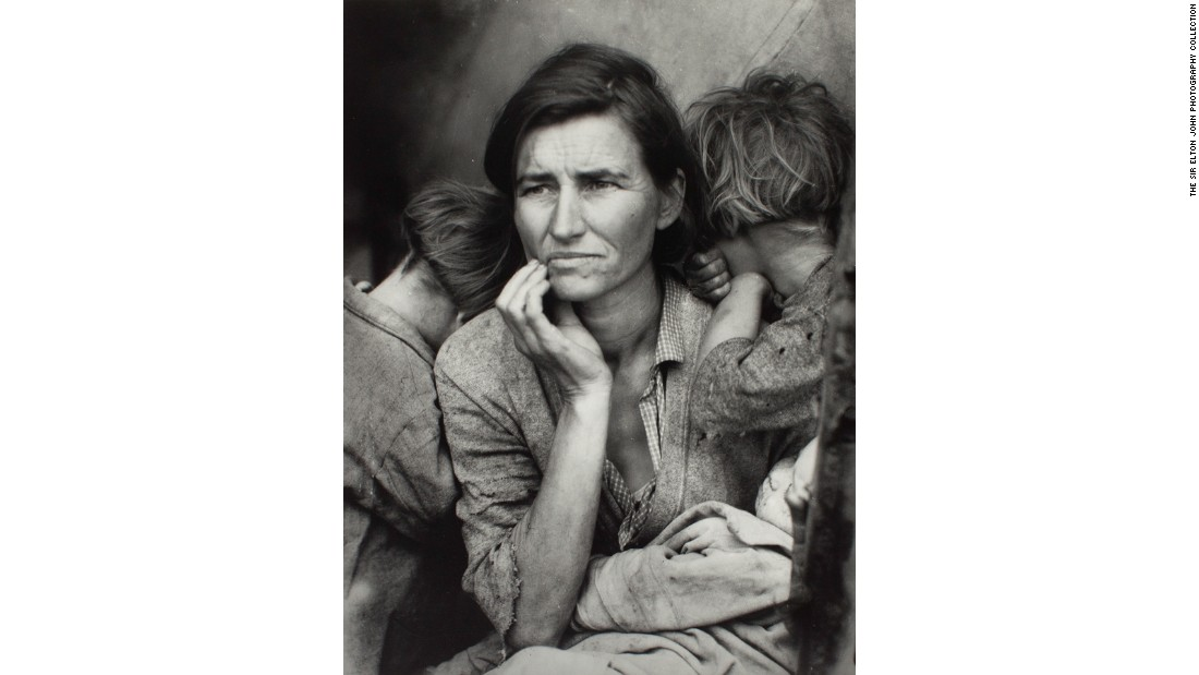 """Migrant Mother"" (1936) by Dorothea Lange"
