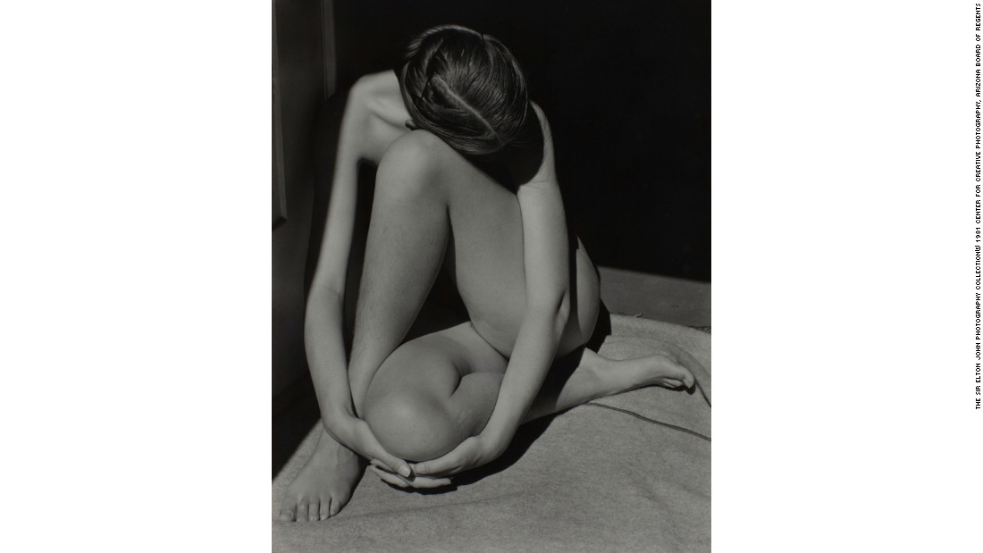 """Nude"" (1936) by Edward Weston"