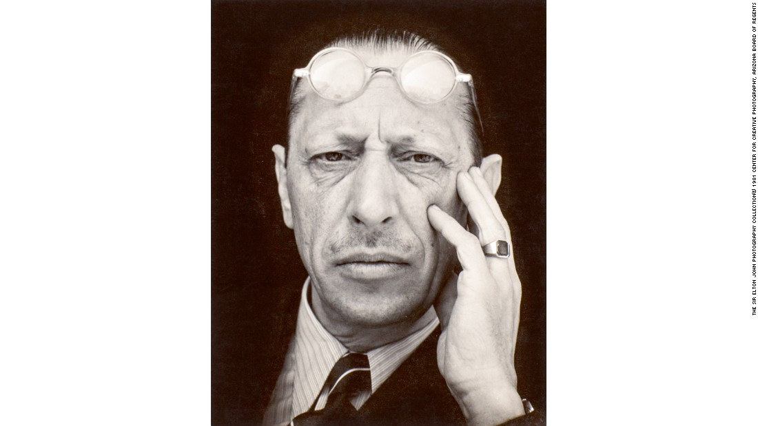 """Igor Stravinsky"" (1935) by Edward Weston"