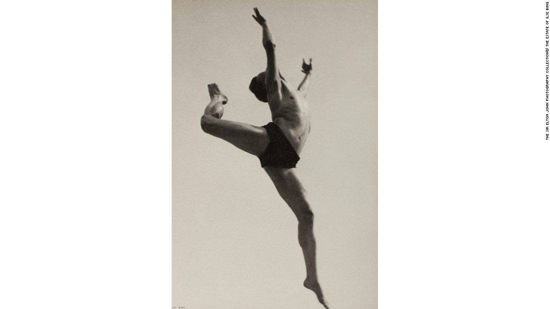 """Dancer, Willem van Loon, Paris"" (1932) by Ilse Bing"