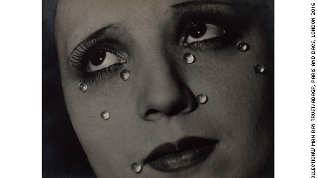 """Glass Tears"" (1932) by Man Ray"