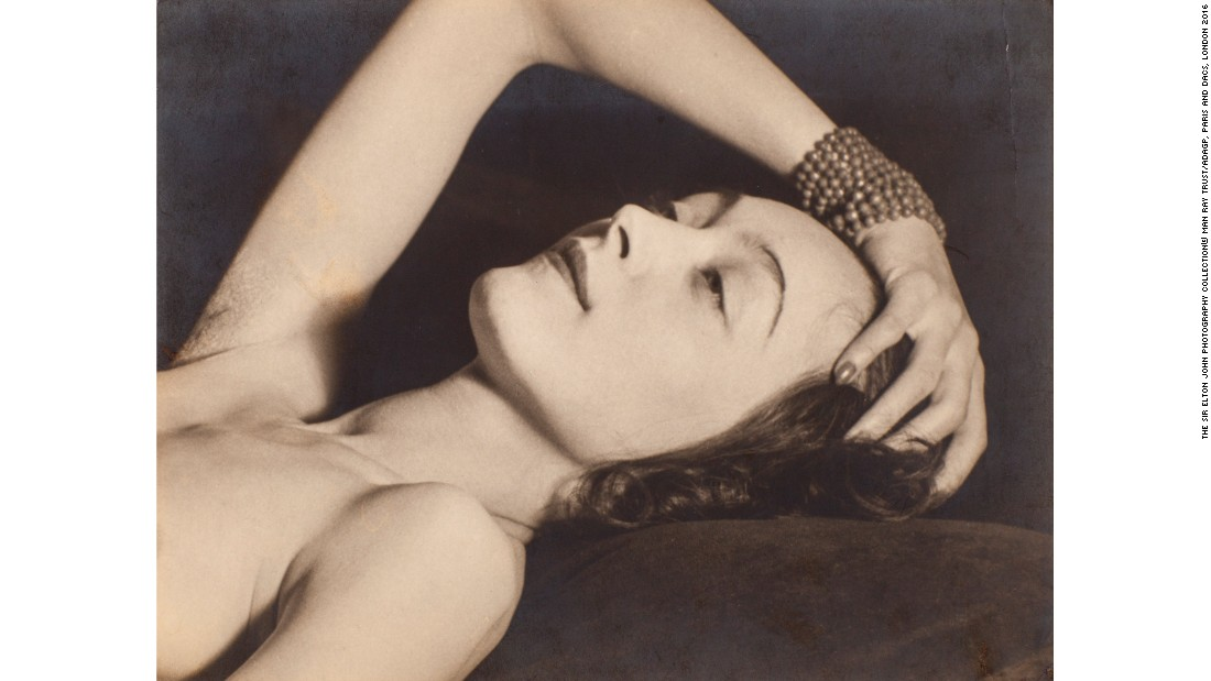 """Nusch Eluard"" (1928) by Man Ray"