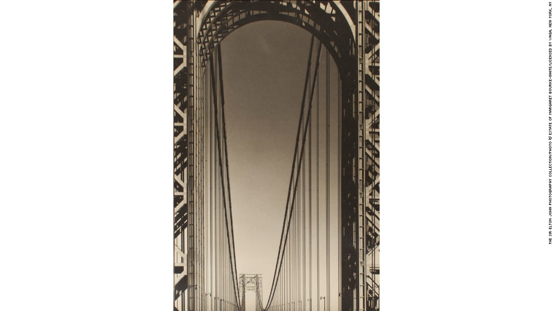 """George Washington Bridge"" (1933) by Margaret Bourke-White"