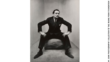 "Salvador Dali"" (1947) by Irving Penn"