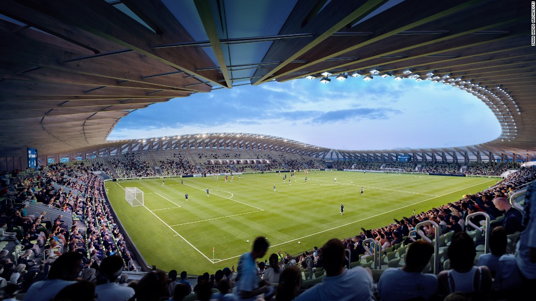 Fans will be as close as five meters to the pitch, enjoying unrestricted views of the game. The stadium will seat 5,000, with the potential of increasing the capacity to 10,000 dependent on the club's success.