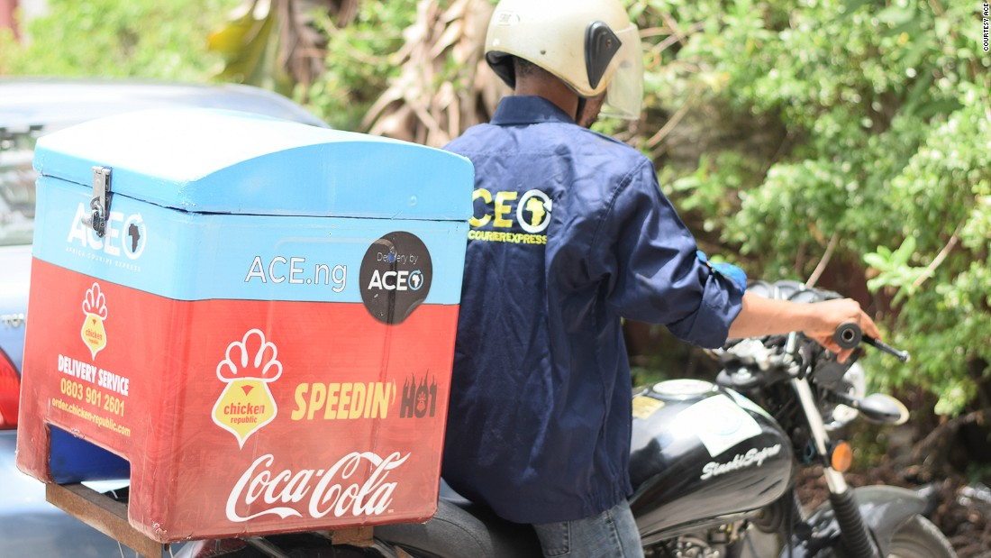 Run by the people behind the Nigerian online marketplace Jumia, the company Africa Courier Express (ACE) says they can deliver some items in just 30 minutes.