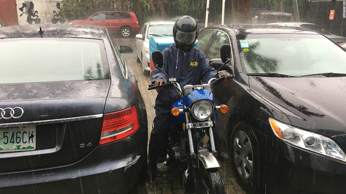 The delivery system is tailor-made for Africa and helps drivers navigate the notorious traffic in Lagos and Abuja to speed up deliveries, according to the company.