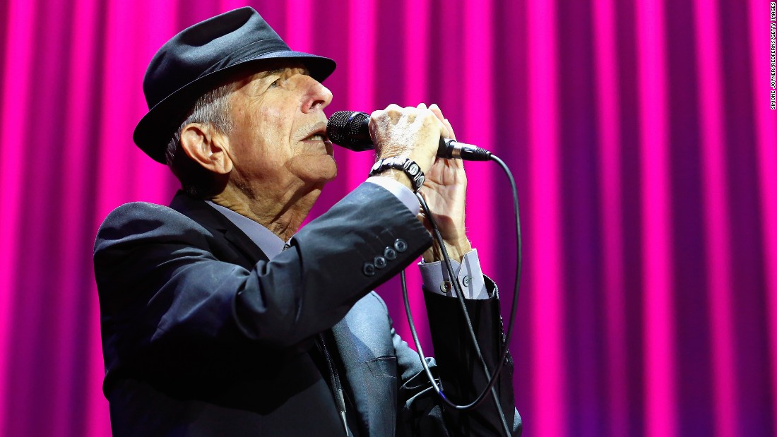 Leonard Cohen d... Leonard Cohen Hallelujah Song