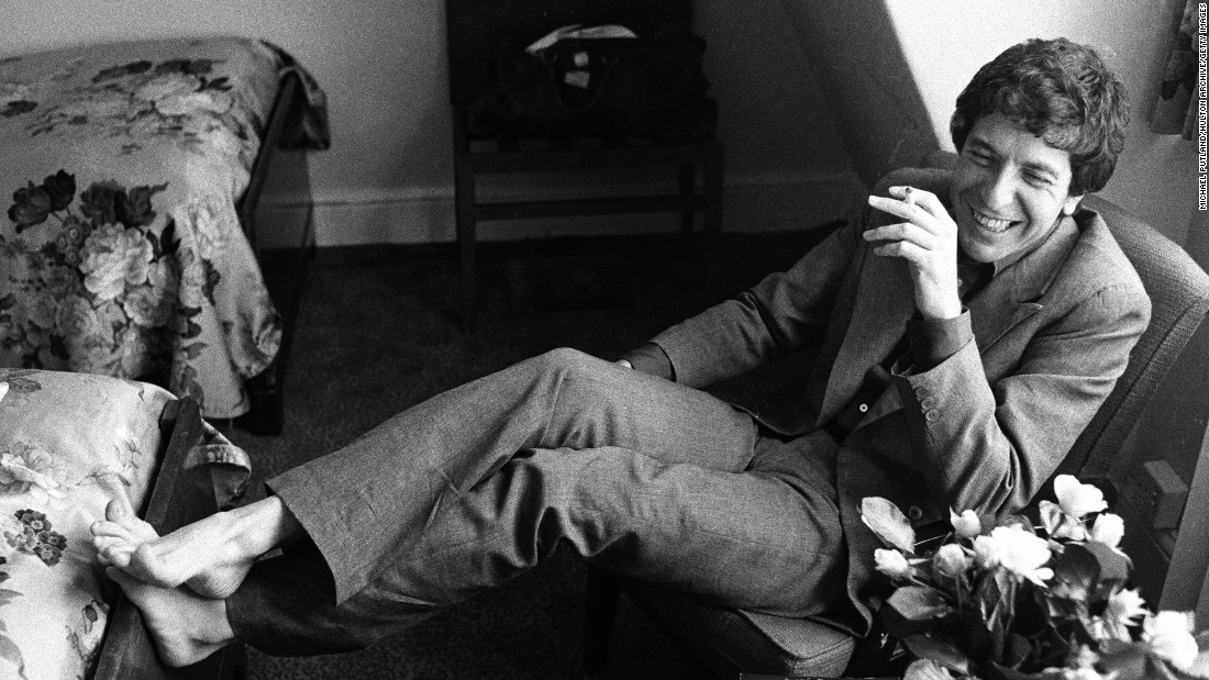 Cohen gets casual in June 1974.